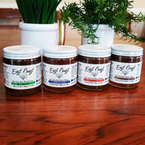 East Coast Herbalist Bee Calm Honey Lineup