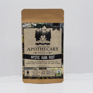 Brothers Apothecary Mystic Kava root 60mg CBD infused tea 3 pack