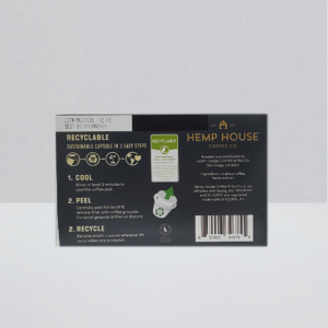 Hemp House kcup compatible 10mg per pod CBD coffee