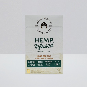 House kcup compatible 10mg per pod CBD rooibos tea
