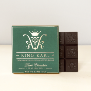King Karl Dark Chocolate 90mg CBD broad spectrum