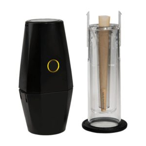 Banana Brothers OTTO electronic grinder and cone rolling tube on the Eat Coast Herbalist site