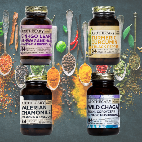 Brothers Apothecary Herbal CBD capsules product lineup picture on East Coast Herbalist website
