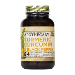 Brothers Apothecary Immunity Capsules with Turmeric, Curcumin, black pepper, and CBD on East Coast Herbalist website