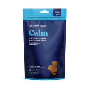 Honest Paws Calm Soft Chews product picture on east coast herbalist website
